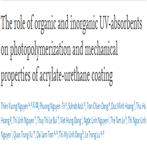 The Role of Organic and Inorganic UV-absorbents on Photopolymerization and Mechanical Properties of Acrylate-urethane Coating