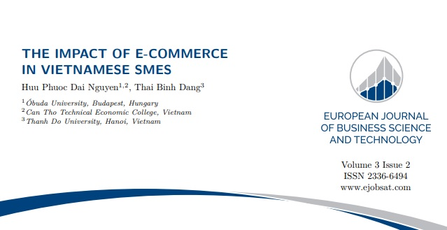 The impact of e-commerce in Vietnamese SMEs - ISSN 2336-6494